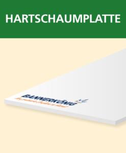 Hartschaumplatte | BANNERKÖNIG
