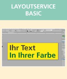 Layoutservice Basic   BANNERKÖNIG