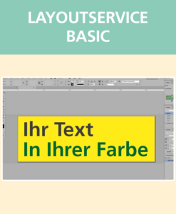 Layoutservice Basic | BANNERKÖNIG