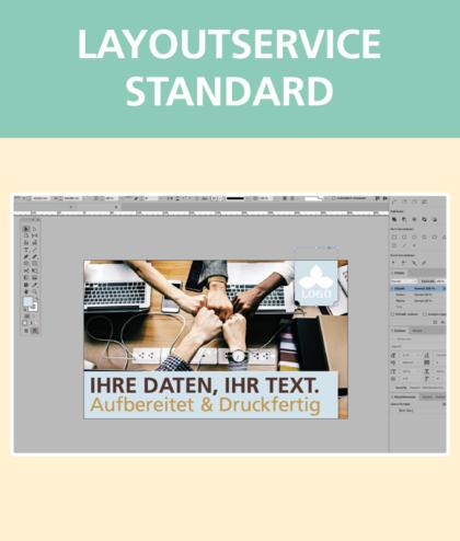 Layoutservice Standard | BANNERKÖNIG
