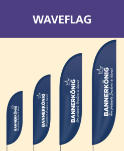 Waveflag   BANNERKÖNIG