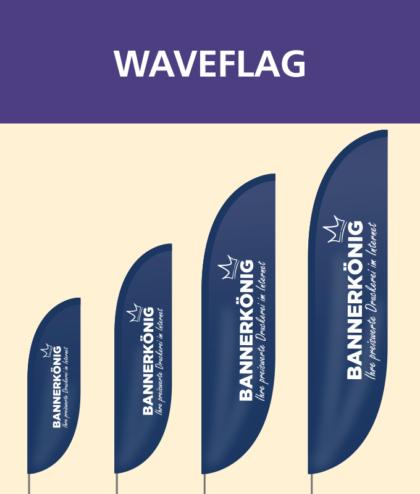 Waveflag | BANNERKÖNIG