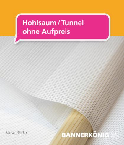 Mesh Banner – Hohlsaum | BANNERKÖNIG