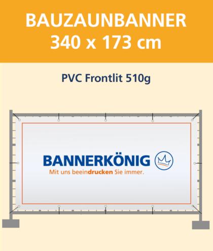 Bauzaunbanner PVC | BANNERKÖNIG