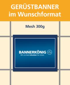 Gerüstbanner Mesh, Wunschformat | BANNERKÖNIG