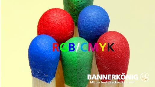 RGB-Farben zu CMYK konvertieren | BANNERKÖNIG