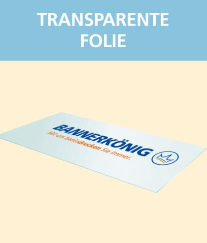 Transparente Folie Bedrucken Lassen Bei Bannerkonig