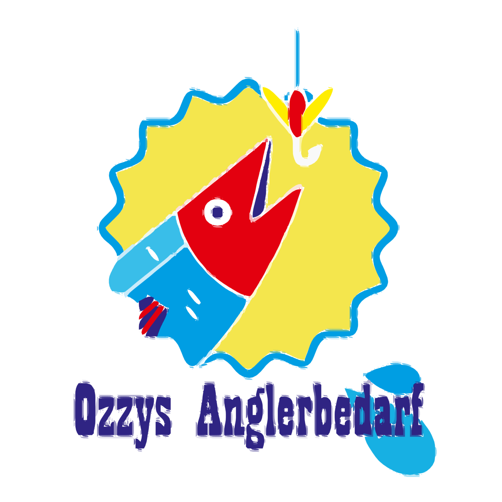 Logo Ozzys Anglerbedarf - Autotracer, sehr detailliert | BANNERKÖNIG