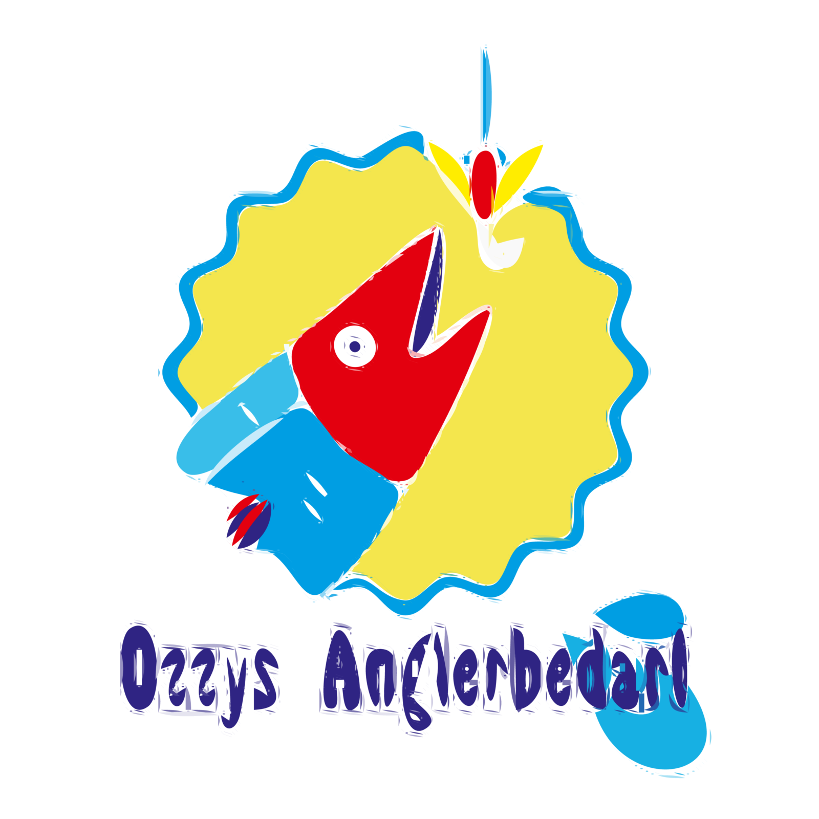 Logo Ozzys Anglerbedarf - Autotracer, sehr glatt | BANNERKÖNIG