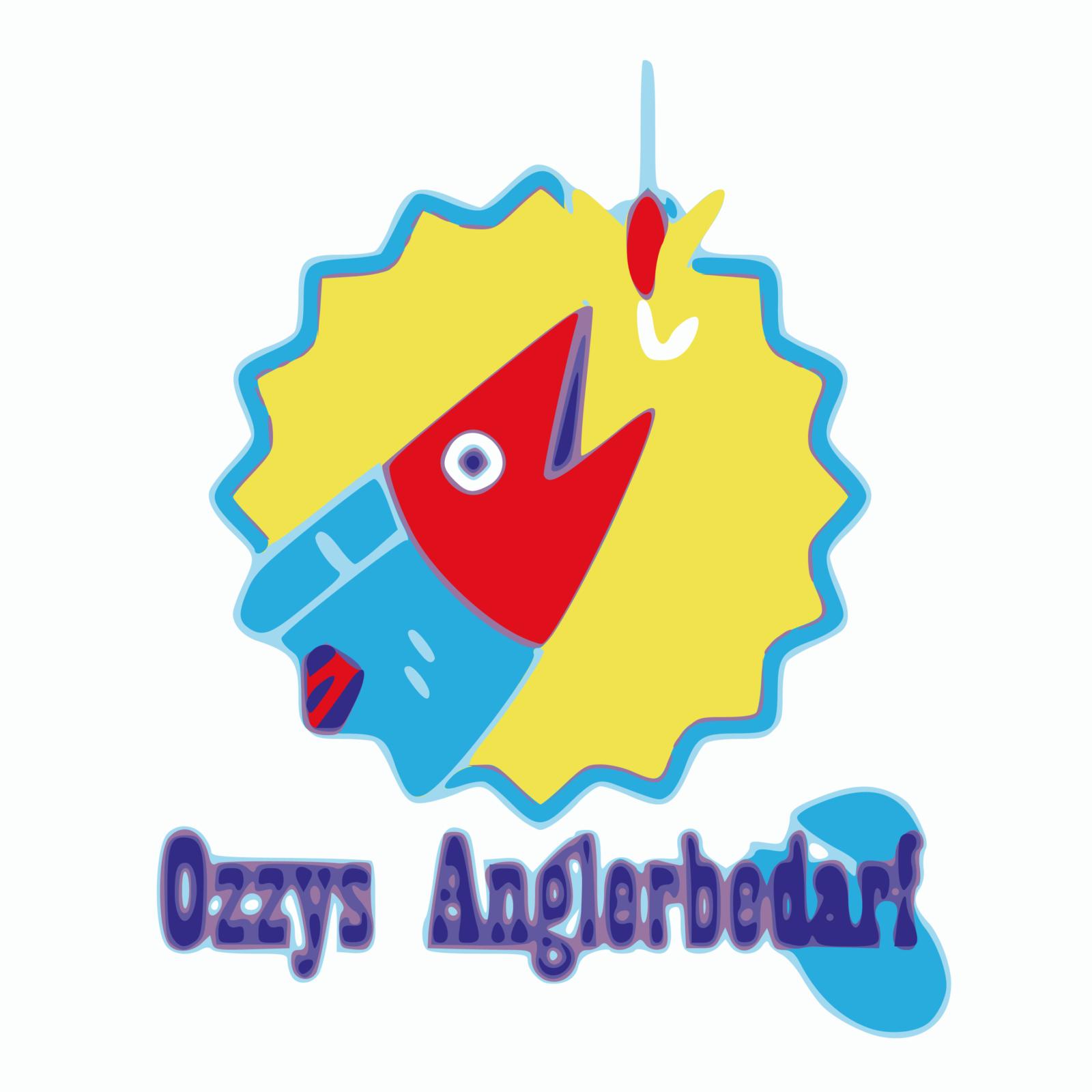 Logo Ozzys Anglerbedarf - Inkscape | BANNERKÖNIG
