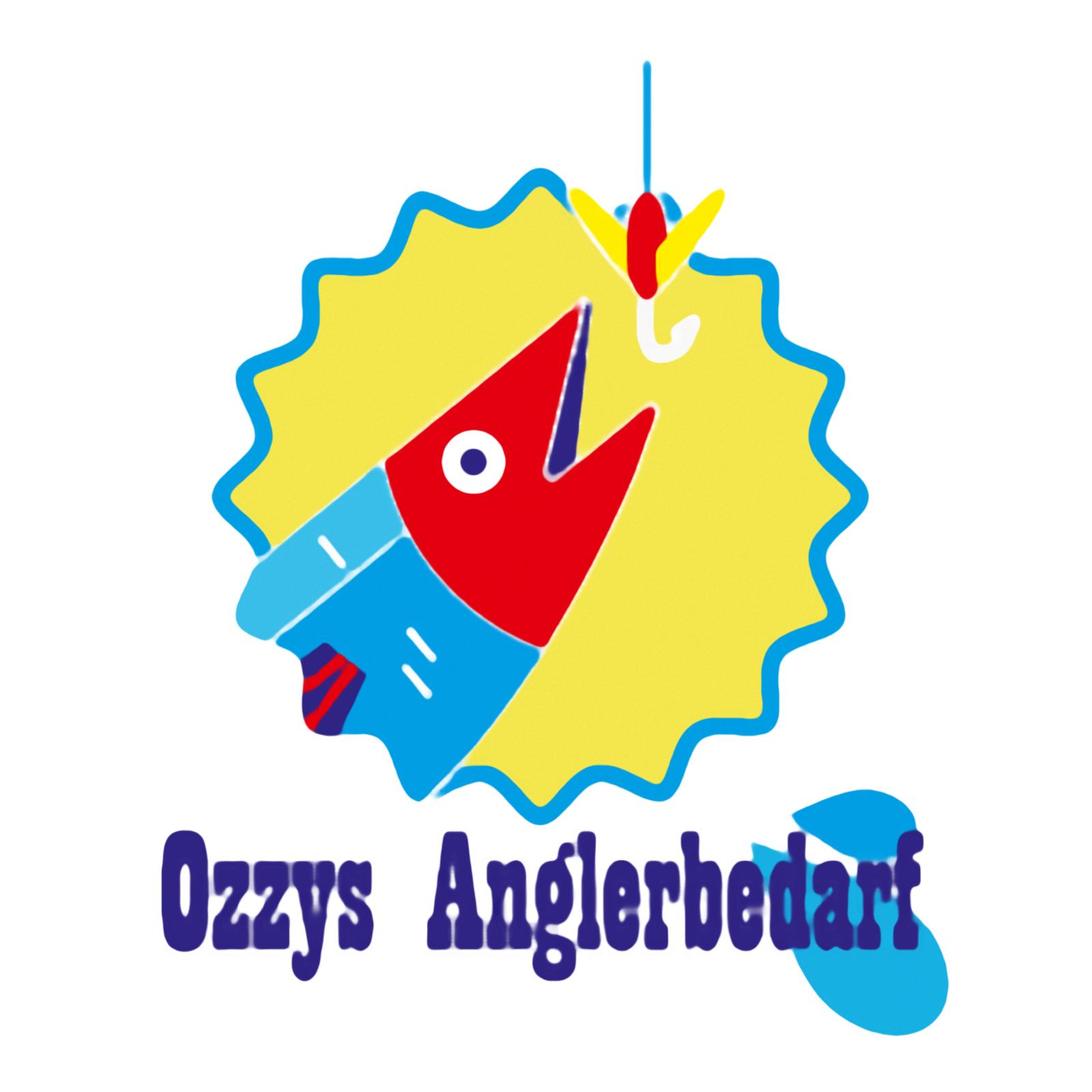 Logo Ozzys Anglerbedarf - SmillaEnlarger, painted | BANNERKÖNIG
