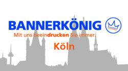 Bannerdruck und Digitaldruck in Köln - Symbolbild der Skyline von Köln