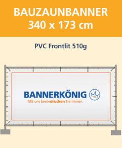Bauzaunbanner PVC Frontlit / Plane