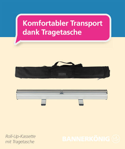 Roll-Up Premium – Tragetasche