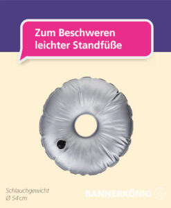 Beachflag-Zubehör – Schlauchgewicht
