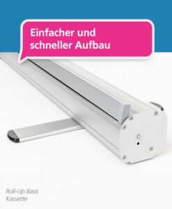 Roll-Up Basic – Aufbau