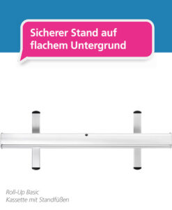 Roll-Up Basic – Standfüße