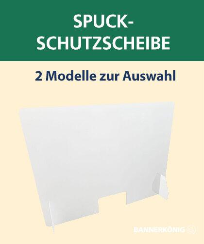 Spuck-Schutzscheibe Plexiglas   BANNERKÖNIG