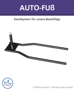 Beachflag-Zubehör – Auto-Fuß