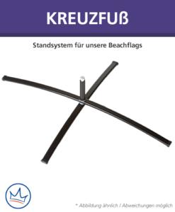 Beachflag-Zubehör – Kreuzfuß
