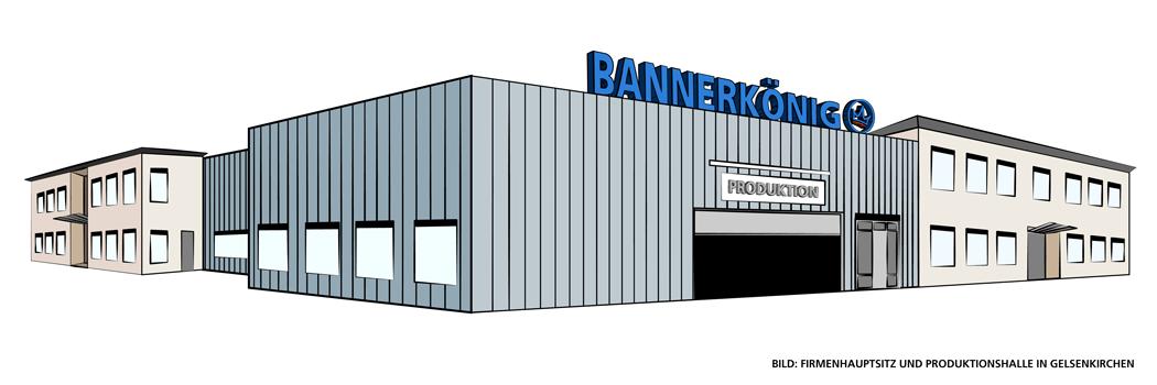 BANNERKÖNIG Firmengebäude Gelsenkirchen