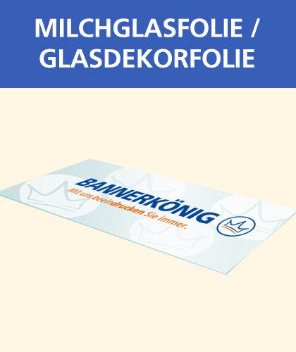 Milchglasfolie / Glasdekorfolie