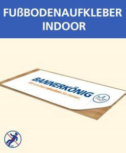 Fußbodenaufkleber Indoor