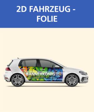 2D Fahrzeugfolie