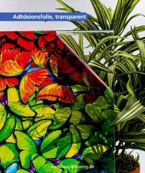 Adhäsionsfolie, transparent – Materialansicht 2
