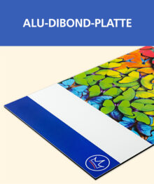 Alu-Dibond-Platten