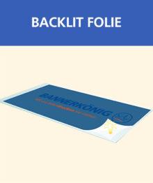 Backlit Folie