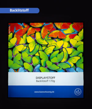 Backlitstoff – Farben bei rückseitiger Beleuchtung