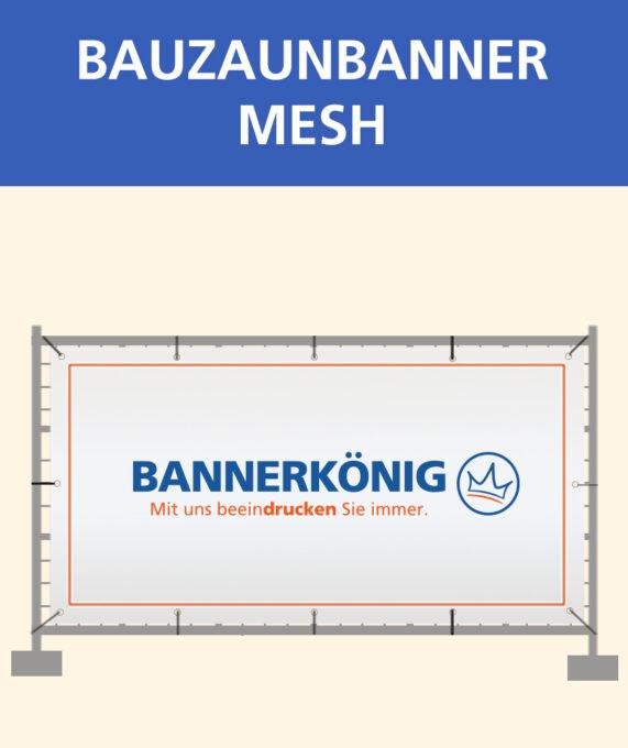 Bauzaunbanner Mesh