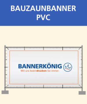 Bauzaunbanner PVC