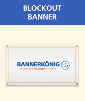 Blockout Banner