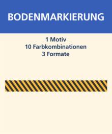 Bodenmarkierung (Teppich) – Streifen