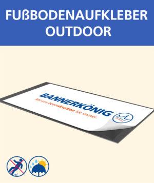 Fußbodenaufkleber (outdoor)