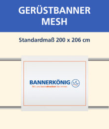 Gerüstbanner Mesh 200 x 206 cm
