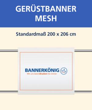 Gerüstbanner Mesh, 200x206cm