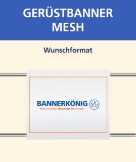 Gerüstbanner Mesh, Wunschformat