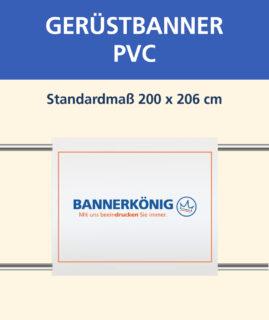 Gerüstbanner PVC, 200x206cm
