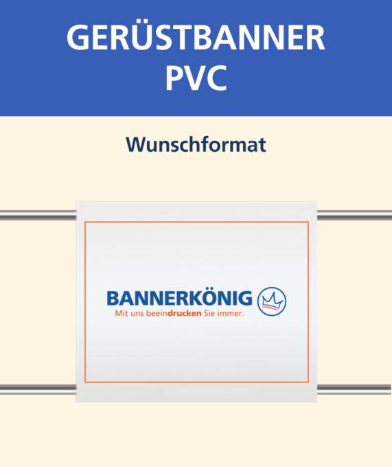 Gerüstbanner PVC, Wunschformat