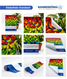 Standard-Klebefolie, glänzend – Materialansicht 2
