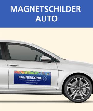 Magnetschilder Auto