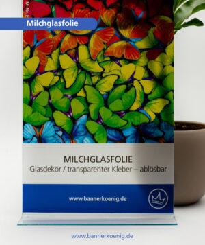 Milchglasfolie – Materialansicht 1
