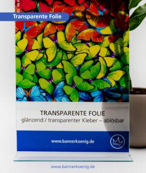 Transparente Folie – Materialansicht 1