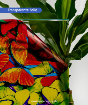 Transparente Folie – Materialansicht 2