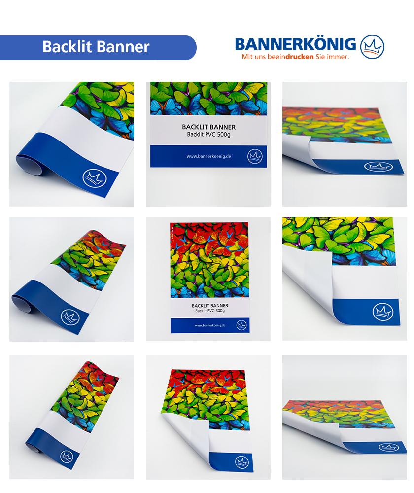 Backlit PVC – Materialansicht gesamt