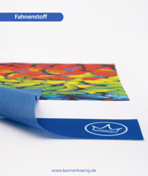 Fahnenstoff – Materialansicht 2
