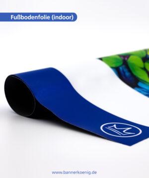 Fußbodenaufkleber (indoor) – Materialansicht 1